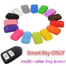 Silicone 2 Button Smart Keyless Remote Key Case Fob Cover Holder For Honda /VEZEL /HR-V /JAZZ /CIVIC /ACCORD /ODYSSEY