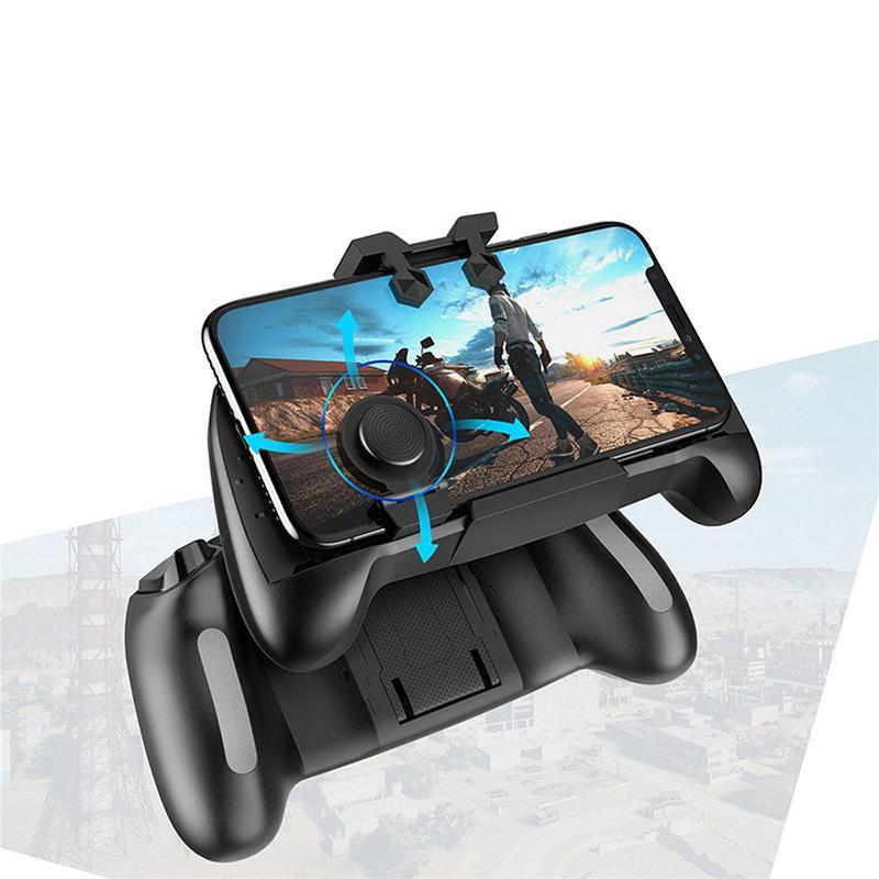 Easvita PUBG Joystick Gaming Gamepad gatillo de juego botón de disparo L1R1 tirador para soporte asa para teléfono de 4,6-6,5 pulgadas