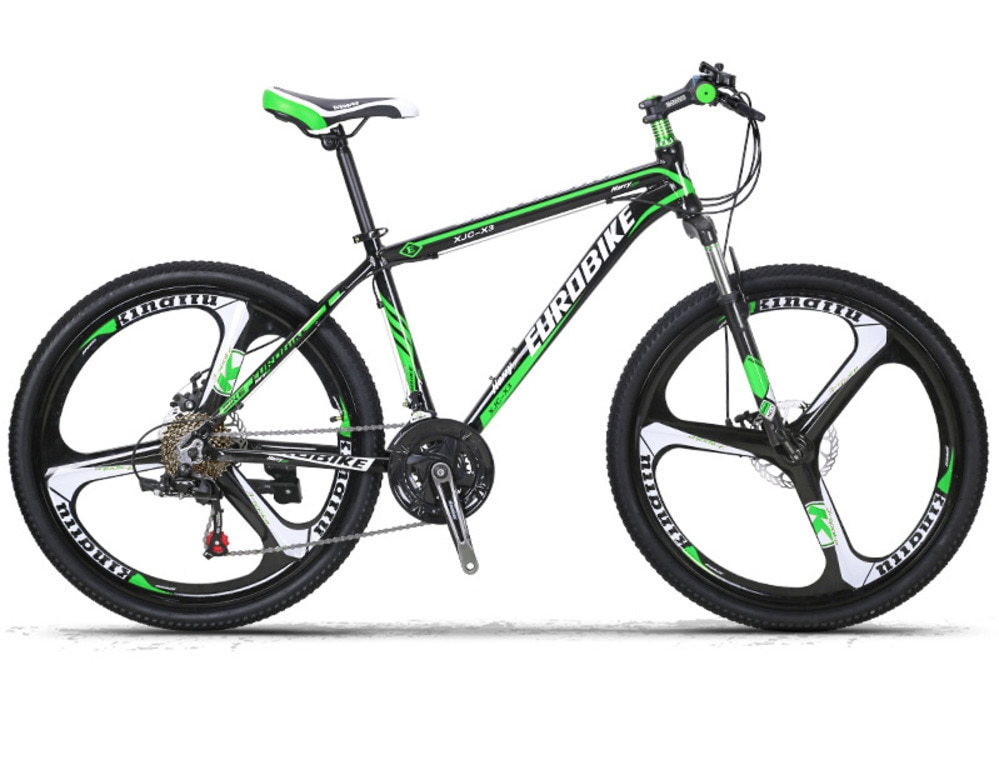Freno de disco de aleación de aluminio AC0300009l A bicicleta de montaña 26 pulgadas 21 velocidades aleación de magnesio tres cuchillos una rueda X3