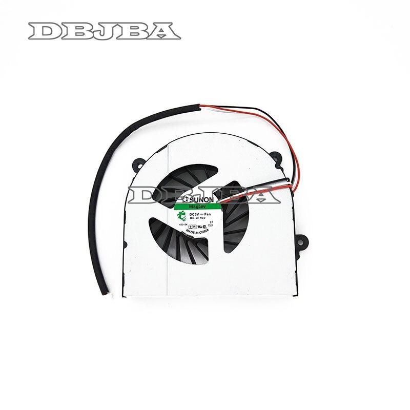 Portátil ventilador para Clevo W150 W150er W350 W350ETQ W370 W370ETQ W370SKQ K590S K660E AB7905HX-DE3 6-23-AW15E-010 6-23-AW15E-011