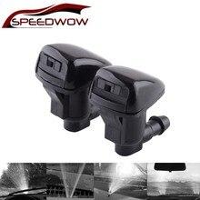 SPEEDWOW 2 unids/set para parabrisas delantero de coche agua limpiador pulverizador para Toyota E120 Corolla Camry XV30 accesorios 85381-AE020