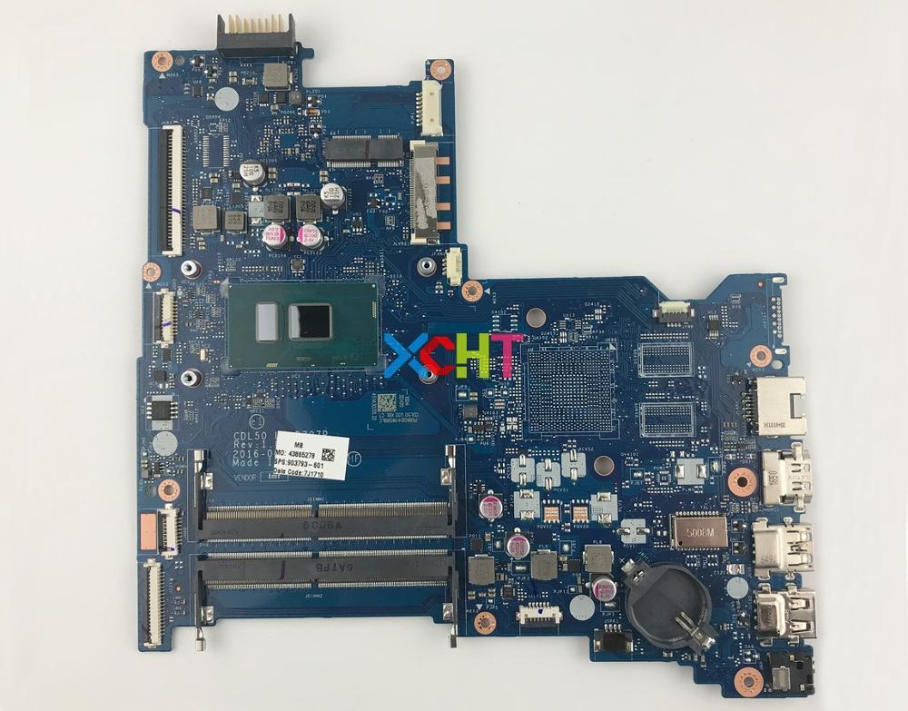 903793-601 UMA w i5-7200U CPU BDL50 LA-D707P ل HP دفتر 15-سلسلة ay 15T-AY100 PC اللوحة اللوحة اختبار