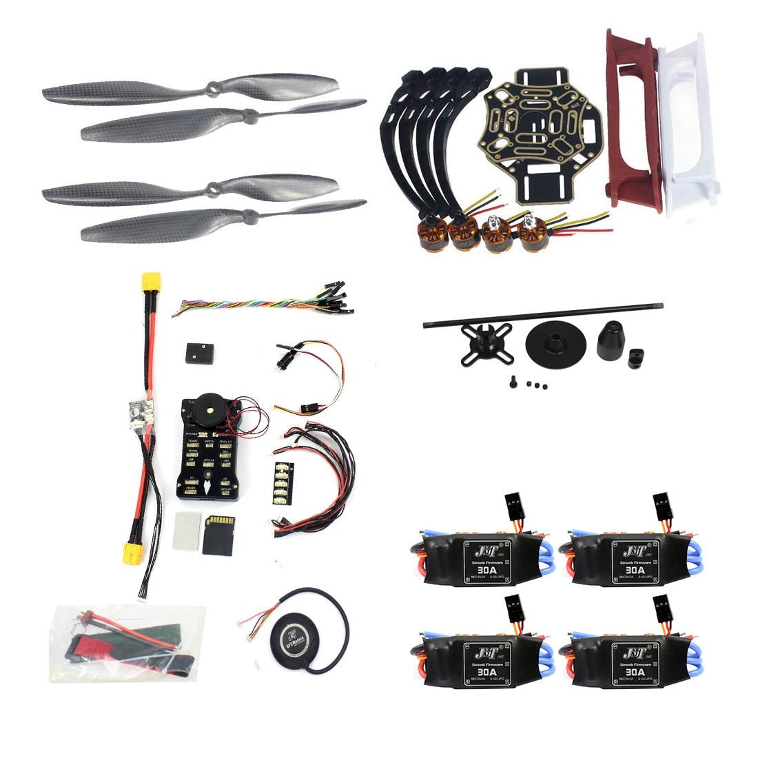 F02192-AD DIY FPV Drone Quadcopter 4-achse Aircraft Kit F450 450 Rahmen PXI PX4 Flight Control 920KV Motor GPS 1043 Propes 30A ESC