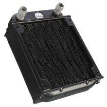 Hot Aluminum Computer Radiator Water Cooling Cooler For Computer Chip CPU GPU VGA RAM Heatsink Heat Exchanger 80mm