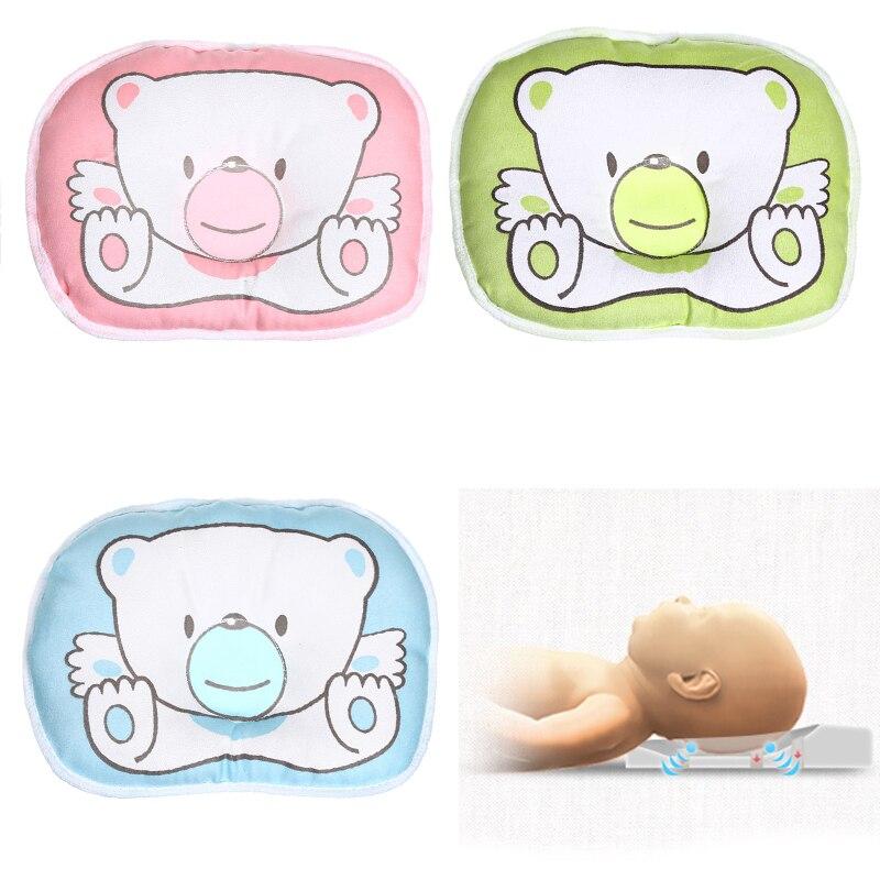 Oreiller à motifs dours pour nouveau-né   Coussin de soutien pour bébé, coussin de prévention de la forme de la tête plate, coussin de sommeil Correct, posture BTZ1