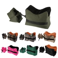 water resistant 600d oxford%c2%a0universal unfilled front and rear bench rest bag for hunting shooting portable and durable