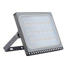 5 uds. Reflectores LED 100W Luz de inundación IP65 impermeable Refletor foco para lámpara LED para iluminación exterior de pared cuadrada 220V 110V