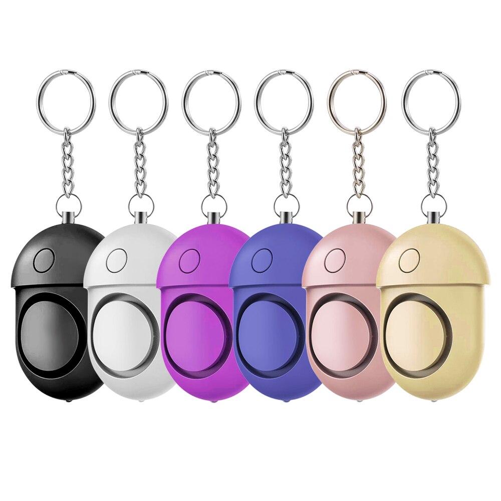 Сигнализация Личная цветная со звуковым сигналом, 125-130 дБ, 6 шт.