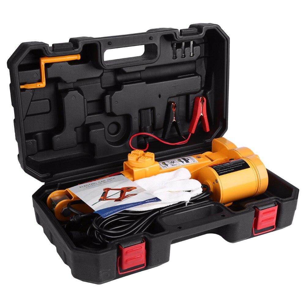 Übersee Ton 12 V DC Automotive Auto Automatische Elektrische Hebe Jack Garage und Notfall Ausrüstung Auto Werkzeuge
