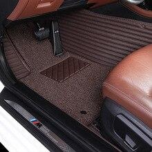 Myfmat רגל שטיחי רצפת מכונית מחצלות עבור סיטרואן האליזה פיקאסו C-quatre C-שער הנצחון C2 C3-XR C4L C4 C5 C6 c5 AIRCROSS C4 פיקאסו קסארה