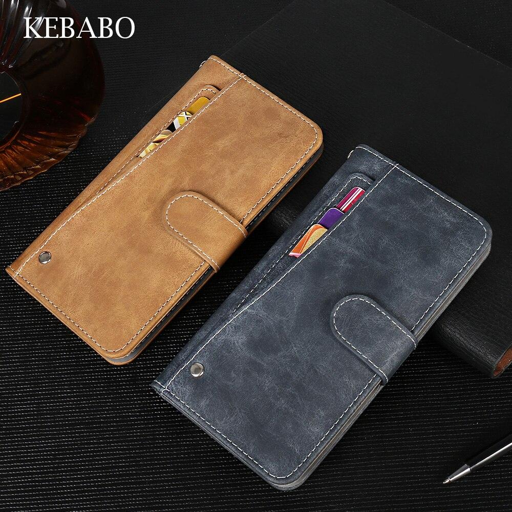 ¡Nuevo diseño! DOOGEE F5 funda billetera de lujo Vintage Flip Funda de...
