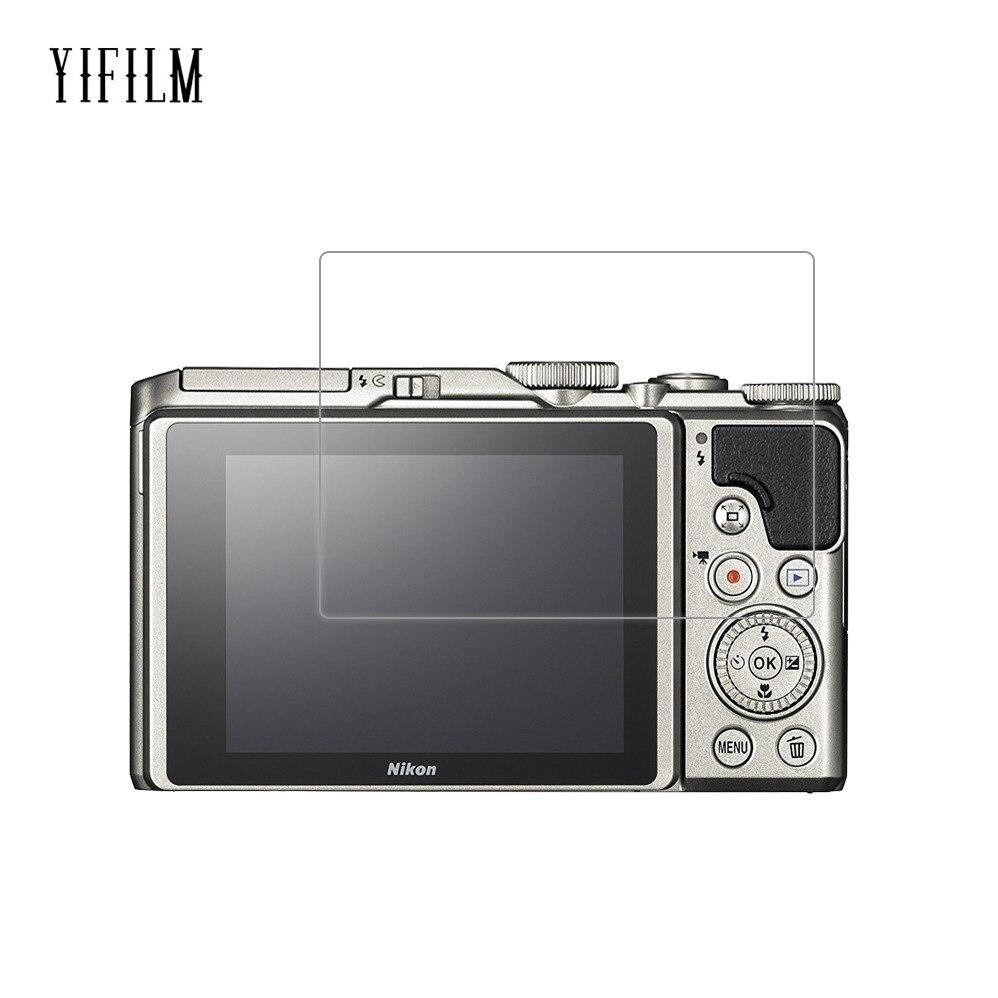0.26mm 2.5D 9 שעתי מזג זכוכית מסך מגן עבור Nikon Coolpix A900 P1000 P900 P900s W300 W300s P530 P510 דיגיטלי מצלמה סרט
