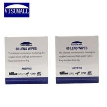 VISUMALL 120 pcs DSLR SLR Cloth Lens Cleaning Cloths Wipe Glasses Optical Camera Cleaner Lens Camera wipes anti-fog wipes tissue
