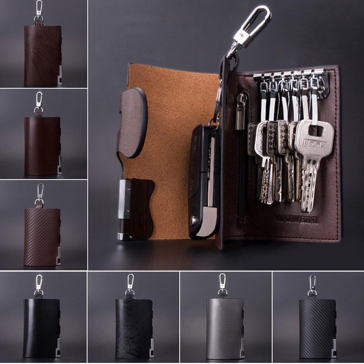 Сумка для ключей Мужская, из натуральной кожи