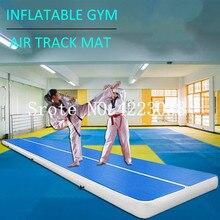 Livraison gratuite pompe électrique gratuite 7*1*0.2 m gymnastique gonflable piste dair tapis de culbuteur pour cour/Sports nautiques/plage