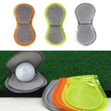 11x10 cm poche balle de Golf nettoyant laveuse éponge Golfball tissu Club serviette propre accessoires
