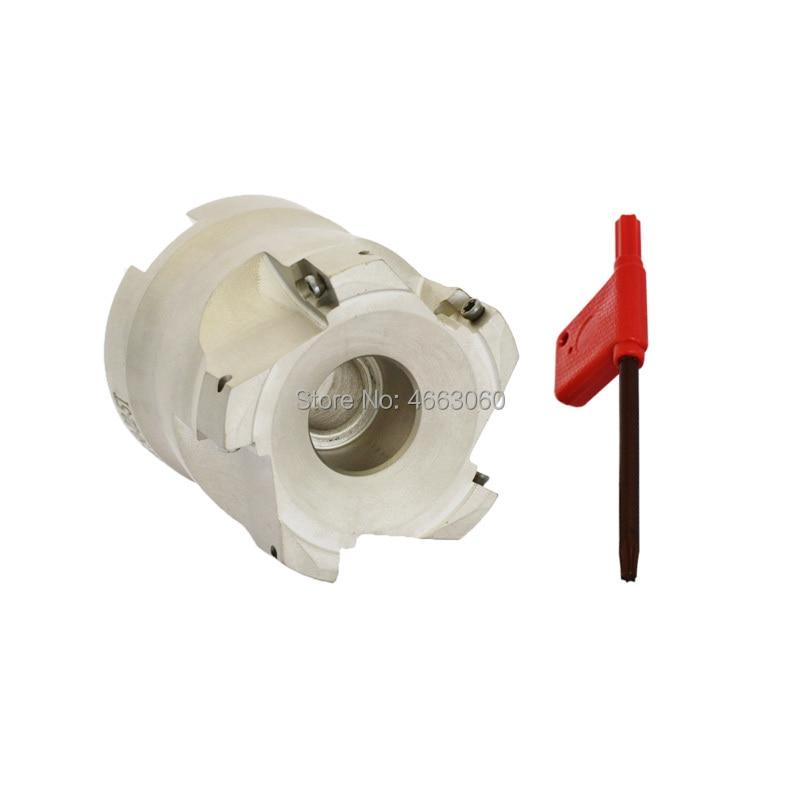 Nuevo 1 Uds BAP300R 63 22 6T cortador de molino facial Indexable 6 flautas Endmill ángulo recto fresa de cara de hombro para inserción APMT1135