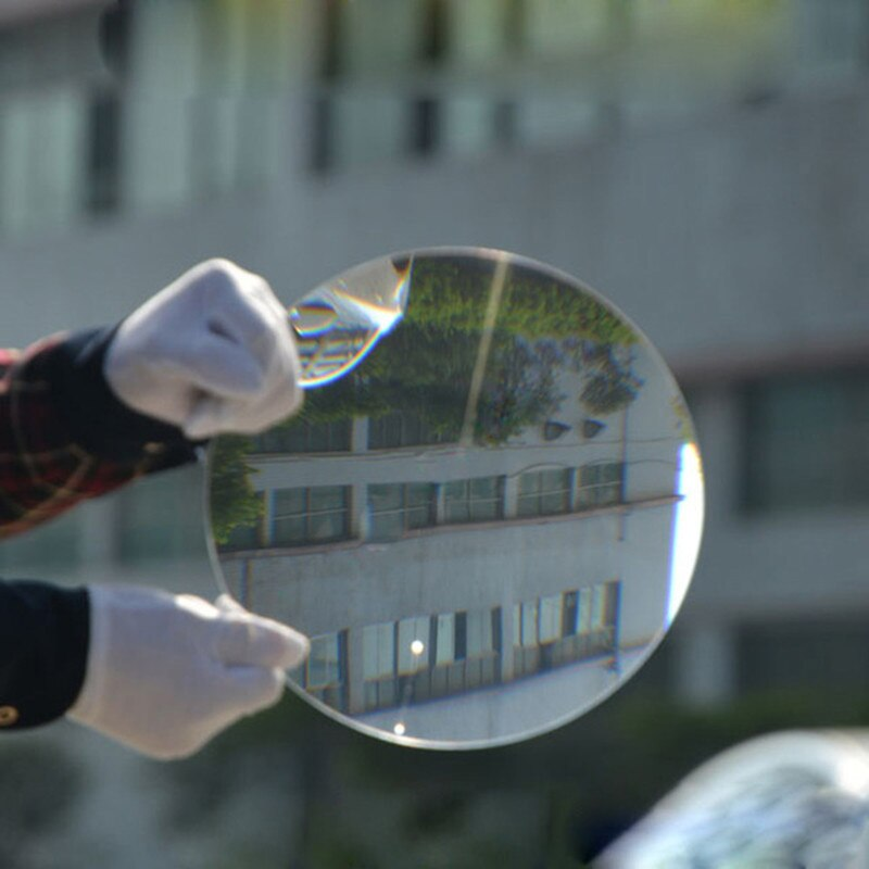 800mm redondo fresnel estructura óptica lente óptica Luz de fresnel difusor de cristal led FL 890mm