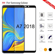 1-2Pcs/Pack A7 2018 Glass for Samsung Galaxy A7 2018 A750 SM-A750F Tempered Glass On the Samsun Glax