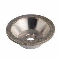 יהלום שחיקה גלגל כוס טחינת עיגולים עבור טונגסטן פלדת כרסום קאטר כלי מחדד מטחנות אביזרי קוטר חיצוני 100mm
