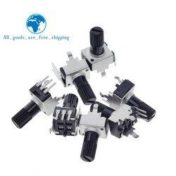 10 шт. Rv09 вертикальный 12,5 мм вал 1k 2k 5k 10k 20k 50k 100k 0932 регулируемый резистор 9 тип 3-контактный уплотнительный потенциометр