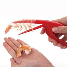 Éplucheur de crevettes en plastique   Rapide pratique, dispositif de pelage de crevettes, accessoires de cuisine créatifs