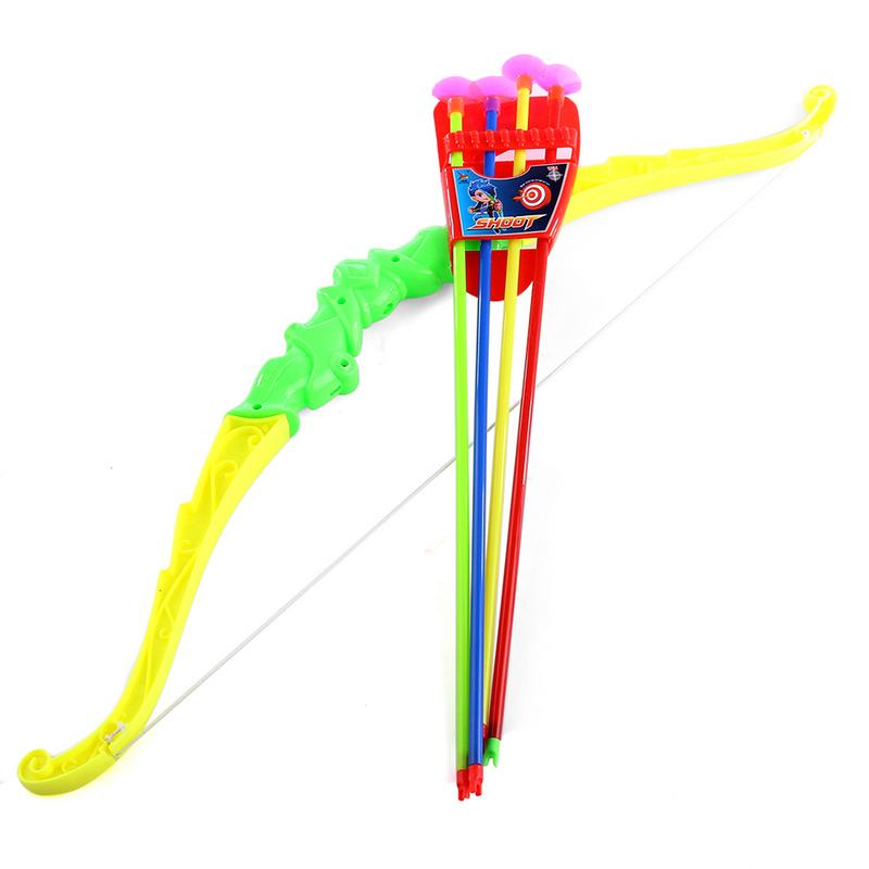 21 Inch Outdoor Arrows Sucker Shooting Toys Children Plastic Archery Bow And Arrow Toys Safety EVA Arrow Sports Education Toy