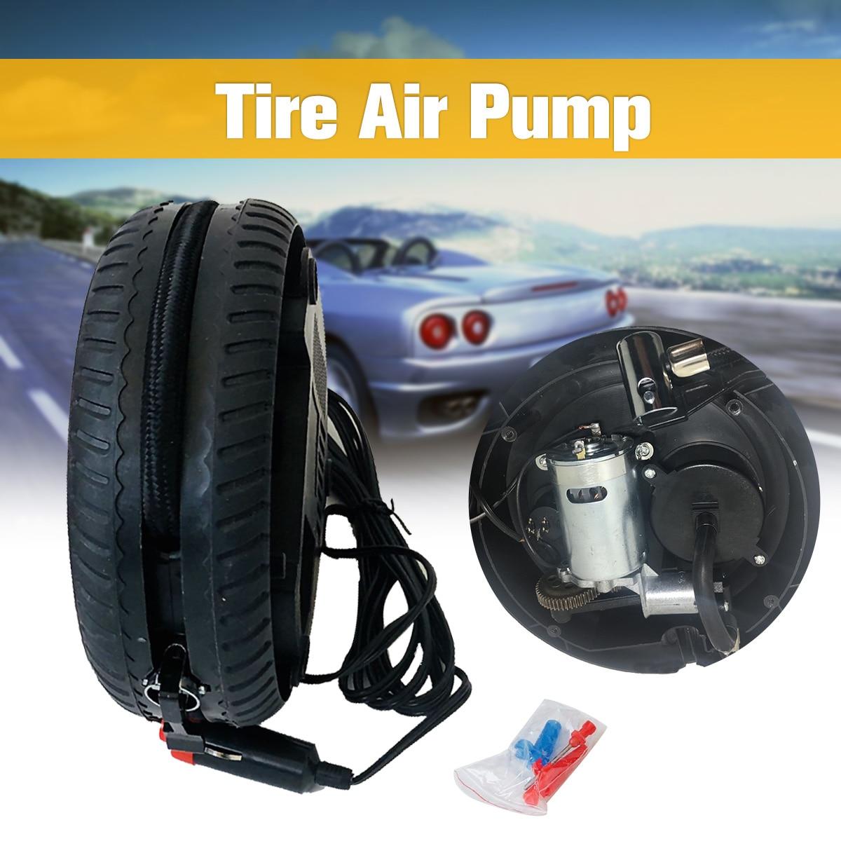 260PSI 12V Portable Tire car air pump Inflatable Pump Electric Air Compressor dropship