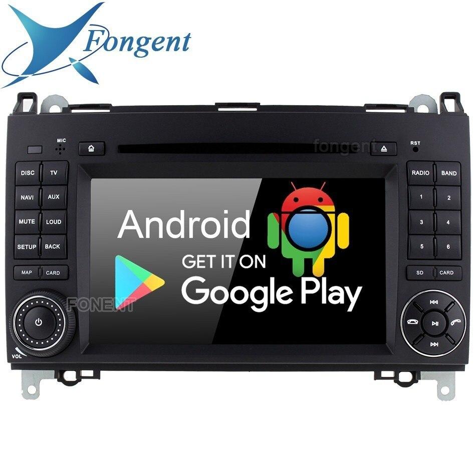 IPS Android 9,0 reproductor de DVD del coche para Mercedes Benz B200 W169 W245 W906 Sprinter Viano Vito GPS para coche Radio estéreo de 4Gb + 64Gb 8Core RDS