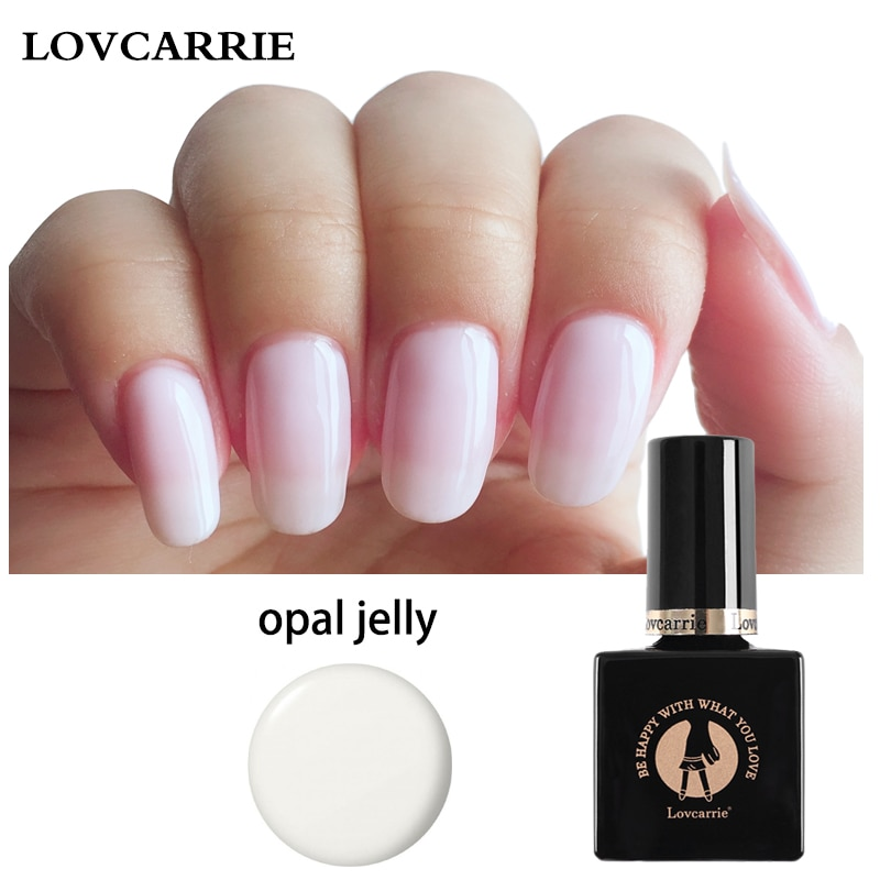 Lovcarrie Gel de manicura semipermanente blanco Vernis UV