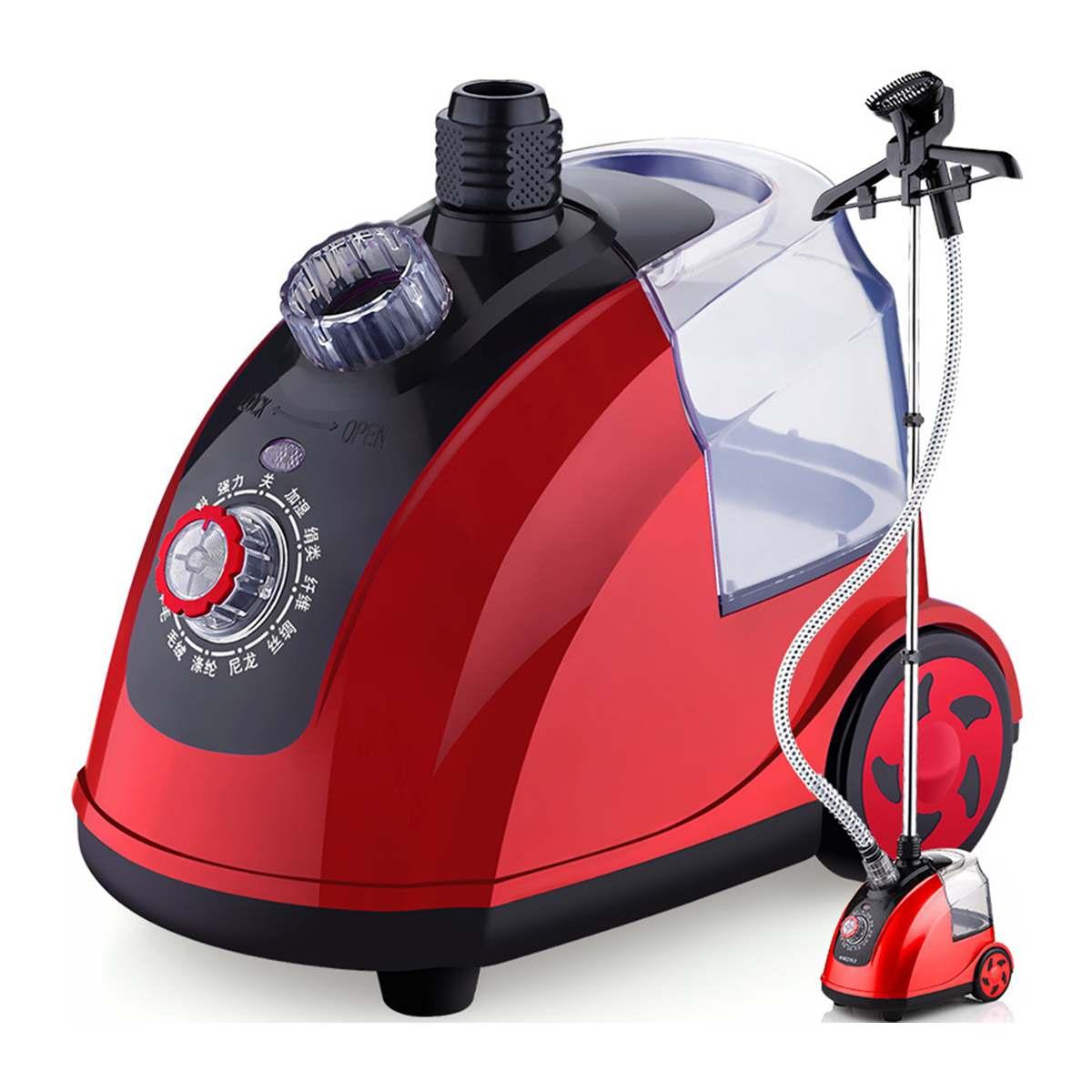 Vaporizador de prendas de hierro, vaporizador de ropa ajustable con 70 minutos de Vapor continuo 1800W 1.8L tanque de agua 26s de vapor rápido