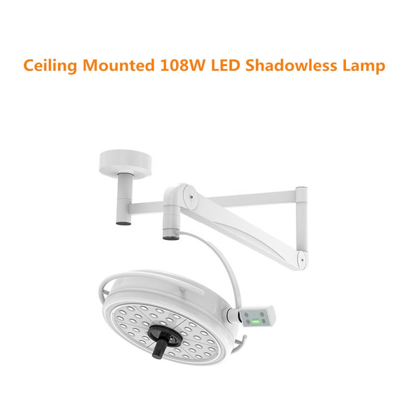 CE/FDA Approval 108W LED Surgical Examination Light Shadowless Lamp Surgery Dental Department Pet Clinic Lamp Operation Light enlarge