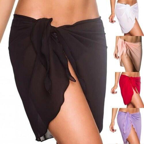 HEIßER Sommer Strand Cover Up Bikini Bademode Vertuschung Rock Badeanzug Wrap Anzug