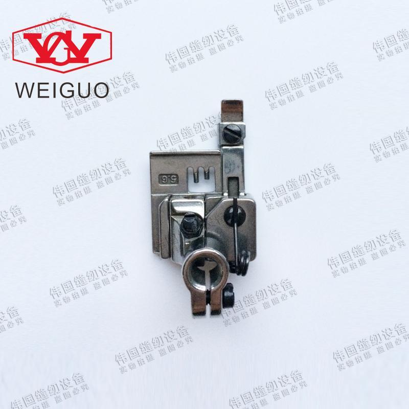 Máquina de costura Industrial SIRUBA silver arrow C007 P2116-A pequena praça de colarinho 5.6 trecho máquina de costura calcador