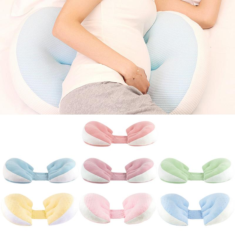 Pregnant Women Pillow Waist Side Sleep Pillow Stomach Lift U-shaped Pillow Multi-function Pillows Pregnancy Side Sleeper epic furnishings rumba perfect sit and sleep transitional style pillow top full queen size futon sofa sleeper bed