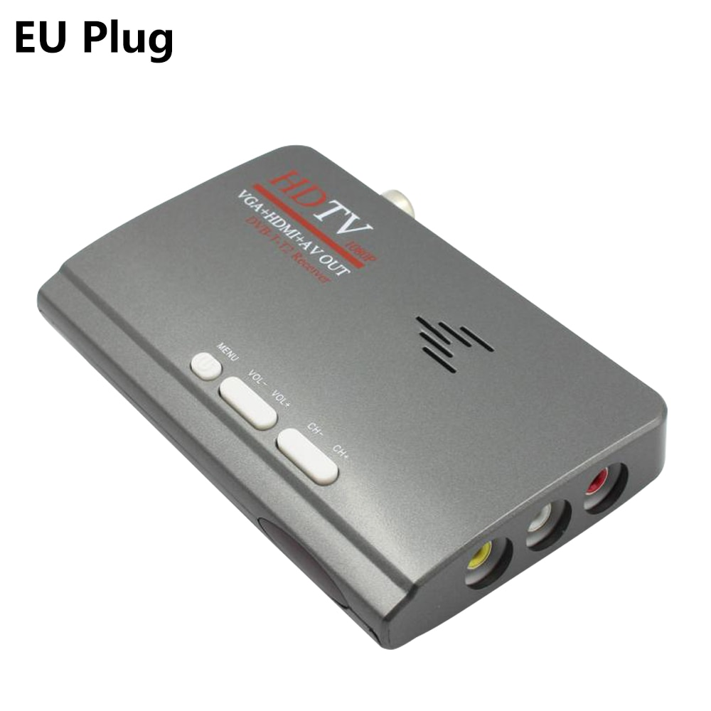 2018 New Digital HDMI DVB-T/T2 dvbt2 TV VGA Fashion Receiver Converter
