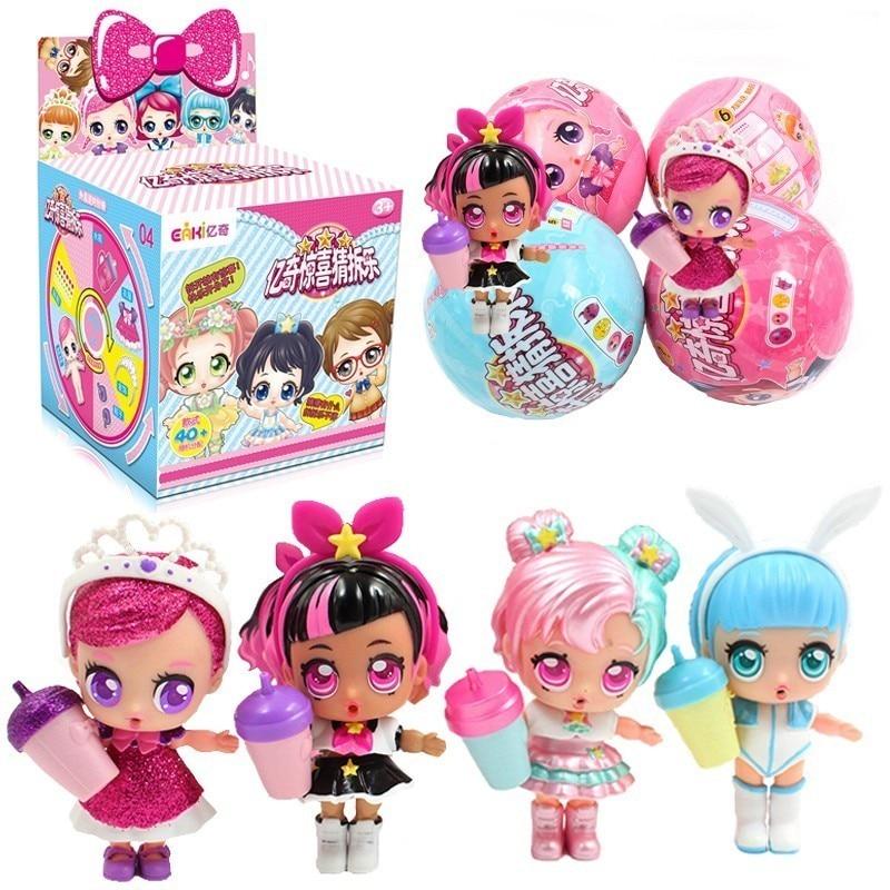 Nuevo multi-estilo Lol muñeca DIY niños muñeca de juguete con ropa y zapatos de dos tamaños para que usted elija dar un regalo para los niños