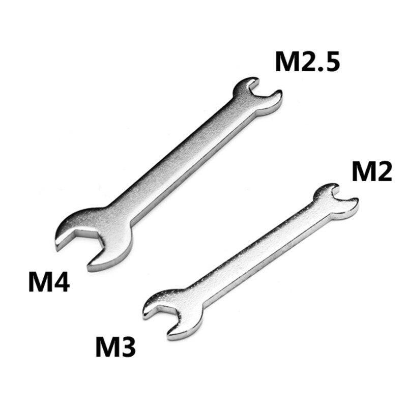 M3 + M2/M4 + M2.5 llave hexagonal pequeña para DIY RC partes de helicóptero de alta calidad