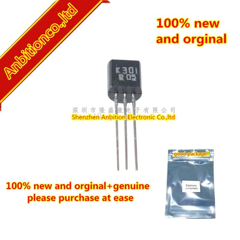10 Uds. 100% nuevo y original K301 2SK301 TO-92 SI N Canal JUCTION en stock