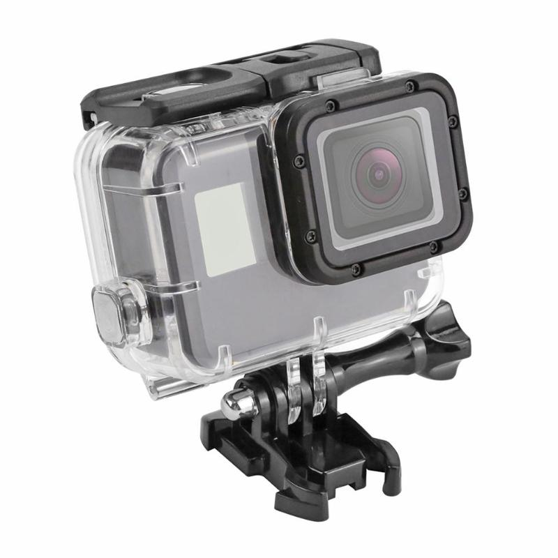 SHOOT 40m funda protectora impermeable subacuática carcasa marco de la carcasa para GoPro Hero 7 5 6 accesorio para Cámara de Acción