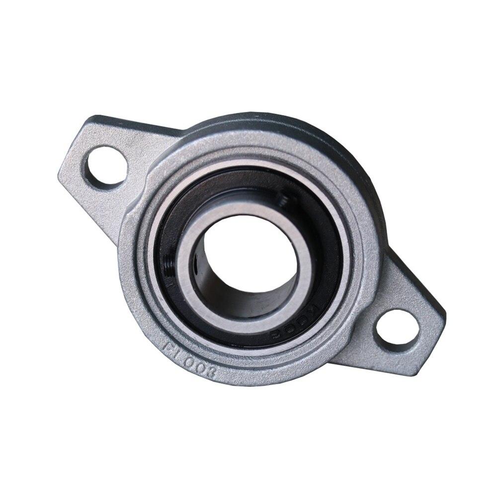 4 piezas KFL006 30mm diámetro del orificio aleación de Zinc almohada bloque cojinete de brida
