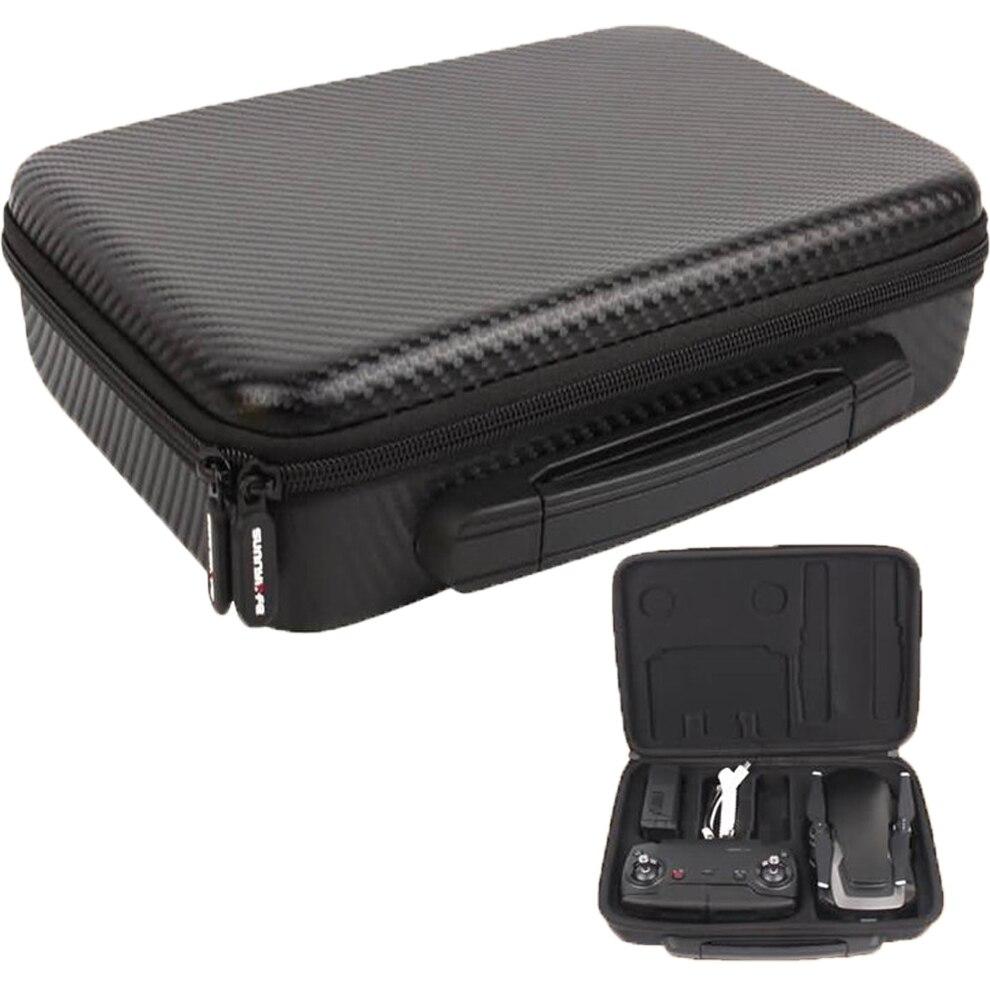 Bolsa de almacenamiento portátil para DJI MAVIC Air Estuche de transporte PU, funda protectora para el cuerpo de Dron de aire, bolso de mano con Control remoto, bolso de hombro