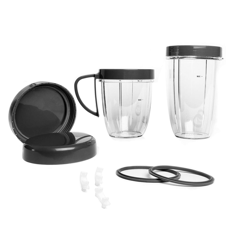 Новый Премиум набор аксессуаров чашка и закрываемая крышка прокладка