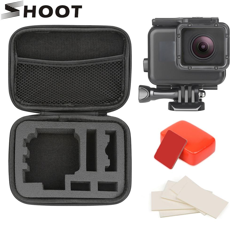 SHOOT para GoPro Hero 7 6 5 negro 45M funda impermeable subacuática carcasa montaje para GoPro 7 6 5 Go Pro 7 accesorios de cámara