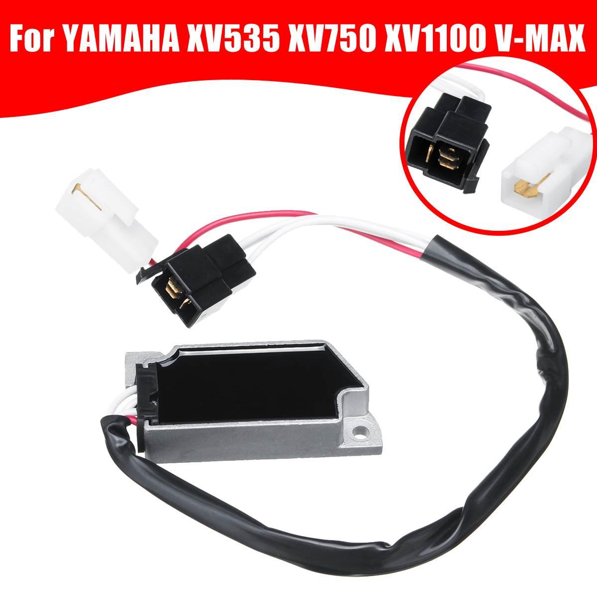 Autoleader, regulador de voltaje de motocicleta Motobike, rectificador estabilizador de Moto para YAMAHA XV535 XV750 XV1100 V-MAX
