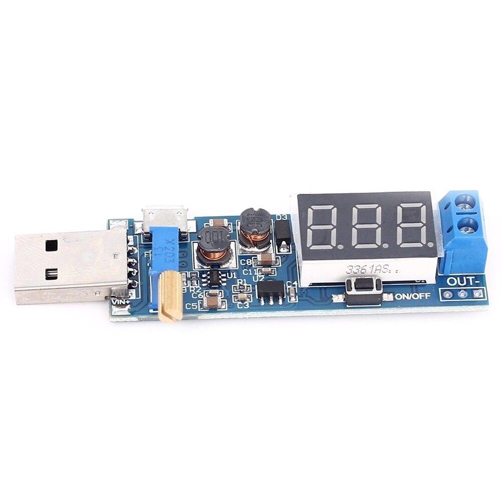 FULL-1Ps Dc-Dc Usb paso/módulo de fuente de alimentación buck-boost convertidor de 5V a 3,3 V/12V