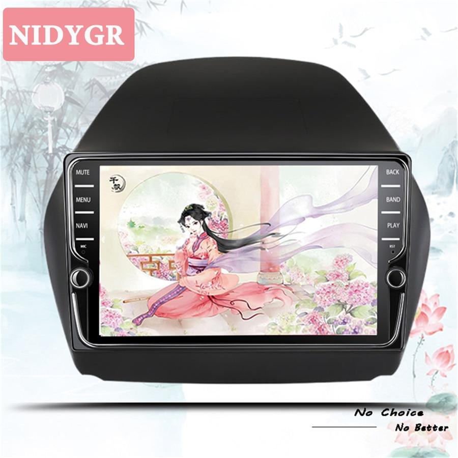Android 10,0 coche DVD octa Core 4GB RAM 64GB rom reproductor multimedia para hyundai IX35 tucson 2011-2015 gps estéreo Unidad de Audio
