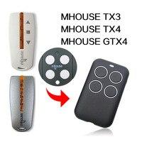 MHOUSE TX3 TX4 GTX4 remote control gate remote control MHOUSE garage door remote control 433MHz