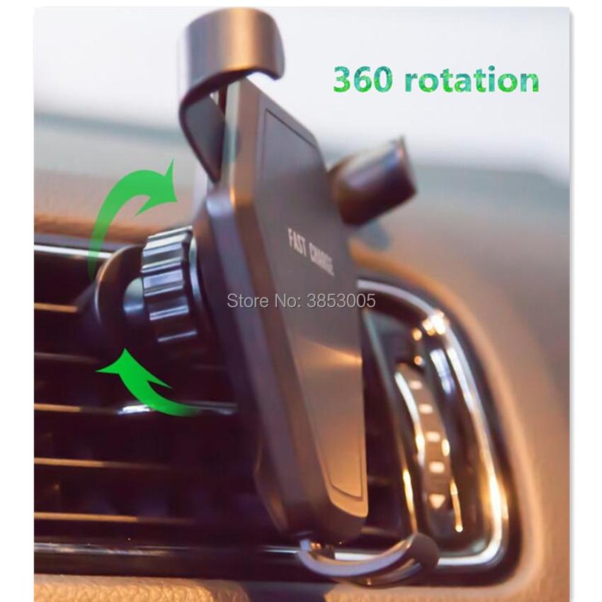 Car Wireless Charger Car Phone Holder For passat b6 peugeot 207 308 seat leon 2 peugeot audi a5 bmw serie 1 alfa romeo