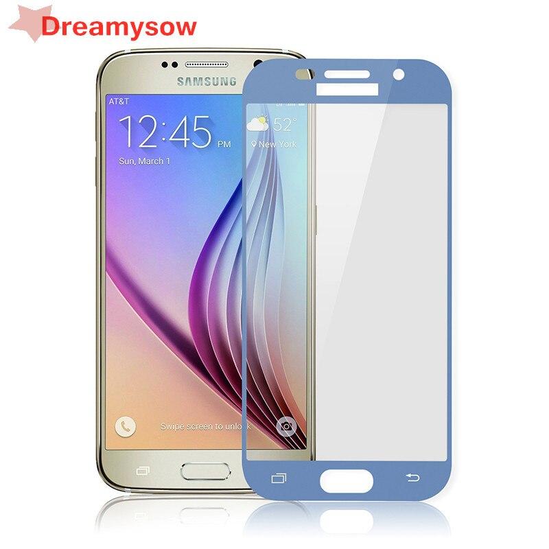 Полная защита экрана для Samsung Galaxy A7 2018 A750 J3 J5 J7 2017 закаленное стекло Galaxy A520F A320F A720F защитная пленка